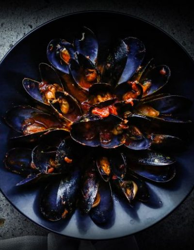 Mussels at 400 Gradi in Dallas, Texas